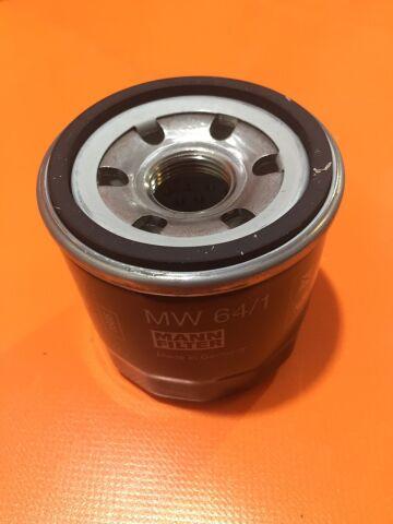фильтр масляный MW64/1,Mann