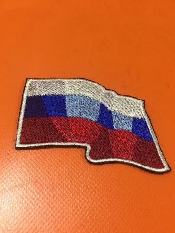 шеврон «Флаг РФ волна»
