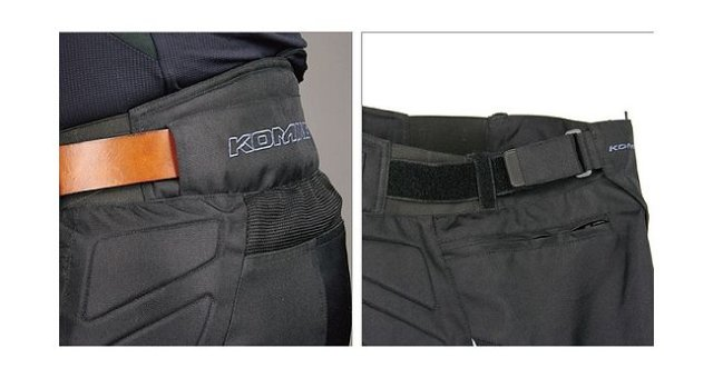 мотоштаны Komine PK-700, чёрные, 4XL