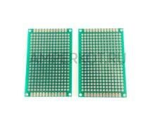 PCB Макетная плата для пайки двусторонняя 3x7см