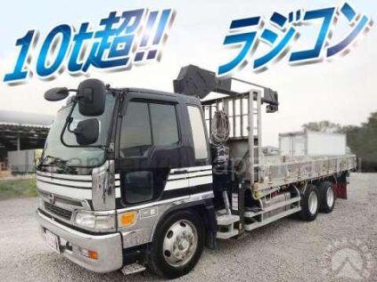 Бортовой+кран Hino Ranger 2000 года в Японии