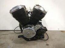 двигатель Honda Shadow 400 Aero 1997 NC34 (без статора генератора и ротора)