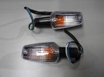 поворотники передние Honda CB400 VTEC 99-02 CB1300 X4 белые HONDA   купить по цене 900 р.