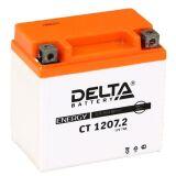 Аккумулятор СТ1207.2 МТ12-6 YTZ7S 7 а/ч 114х70х108 св кисл герм Delta    купить по цене 2300 р.