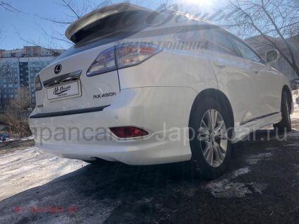Накладки на задний бампер на Lexus RX270 во Владивостоке