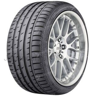 Летниe шины Continental Contisportcontact 3 205/50 17 дюймов новые в Москве