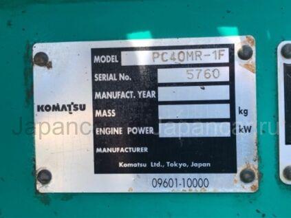 Экскаватор Komatsu PC40MR-1 2001 года во Владивостоке