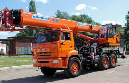 Автокран Автокран КС-55713 на шасси Камаз 65 2018 года в Новосибирске