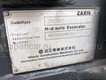 Экскаватор мини Hitachi ZX17U-2 2009 года во Владивостоке