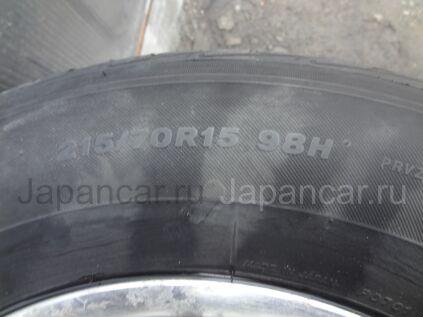 Летниe колеса Bridgestone Playz rv 215/70 15 дюймов Japan б/у в Артеме
