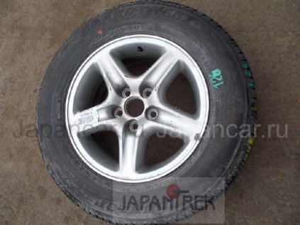 Летниe колеса Dunlop Grandtrek 215/70 16 дюймов Japan ширина 6.5 дюймов вылет 35 мм. б/у в Новосибирске