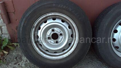 Летниe колеса Dunlop Enasave van 01 165/60 13 дюймов ширина 5 дюймов вылет 40 мм. б/у в Благовещенске