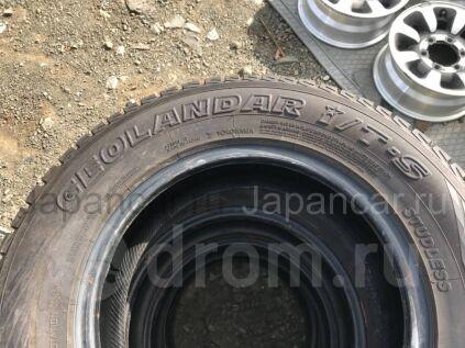 Зимние шины Yokohama Geolandar i/t-s 205/70 15 дюймов б/у во Владивостоке