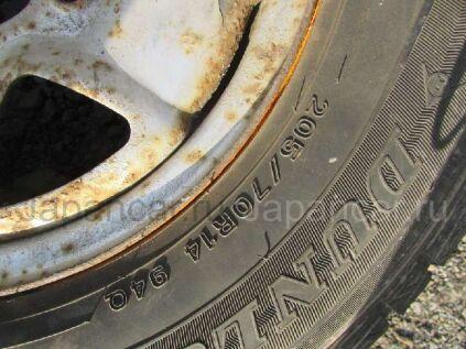 Всесезонные колеса Dunlop Sp 055 205/70 14 дюймов Japan б/у во Владивостоке
