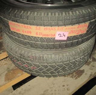 Зимние шины Northtrek S2 195/65 15 дюймов б/у в Новосибирске