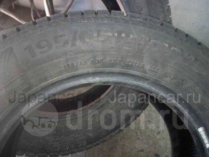 Зимние шины Continental Ice contact 2 195/65 15 дюймов б/у в Красноярске
