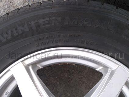 Зимние шины Dunlop Grandtrek sj8 215/70 16 дюймов б/у в Челябинске
