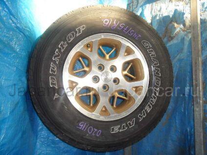 Летниe колеса Dunlop 245/75 16 дюймов б/у в Барнауле