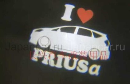 Эмблема на Toyota Prius во Владивостоке