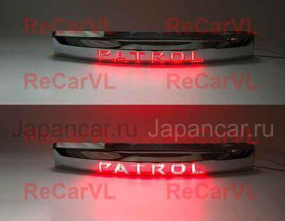 Накладка задней двери под номер на Nissan Patrol во Владивостоке