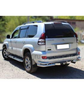 Накладки на пороги на Toyota Land Cruiser Prado во Владивостоке
