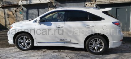 Накладки кузова на Lexus RX во Владивостоке