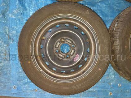 Летниe колеса Dunlop Enasave ec203 175/60 14 дюймов Nissan вылет 4 мм. б/у в Барнауле