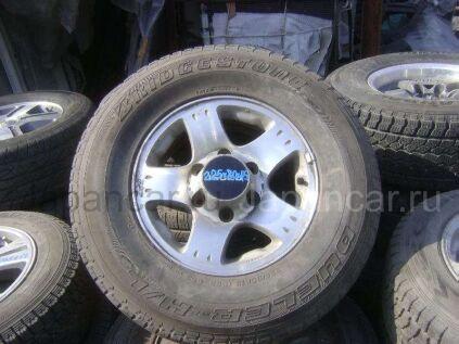 Всесезонные колеса Bridgestone Dueler h/t 225/80 15 дюймов б/у во Владивостоке