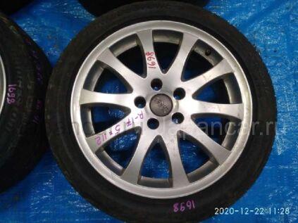 Летниe колеса Bridgestone Playz px 225/45 17 дюймов Audi вылет 5 мм. б/у в Барнауле