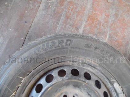 Зимние шины Yokohama Iceguard stud 195/65 15 дюймов б/у в Красноярске