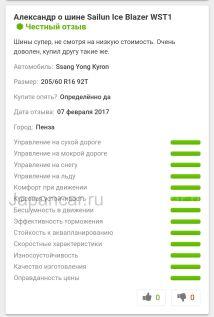 Зимние шины 195/60r15 sailun Ice blazer wst1 195/60 15 дюймов новые в Новосибирске