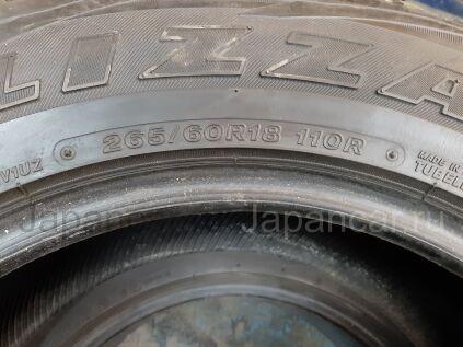 Всесезонные шины Bridgestone Blizzak 265/60 18 дюймов б/у во Владивостоке