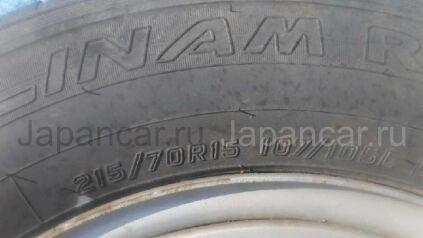 Летниe шины Toyota Hiace 215/70 15 дюймов б/у во Владивостоке
