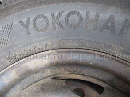 Зимние шины Yokohama 165/80 13 дюймов б/у во Владивостоке