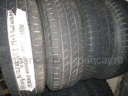 Всесезонные колеса Bridgestone Blizzak vl1 195/80 15 дюймов Япония б/у в Артеме