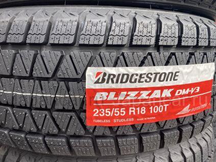 Зимние шины Япония Bridgestone blizzak dm-v3 235/55 18 дюймов новые во Владивостоке