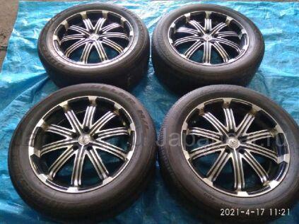 Летниe колеса Bridgestone Dueler h/l422 ecopia 245/55 19 дюймов вылет 5 мм. б/у в Барнауле