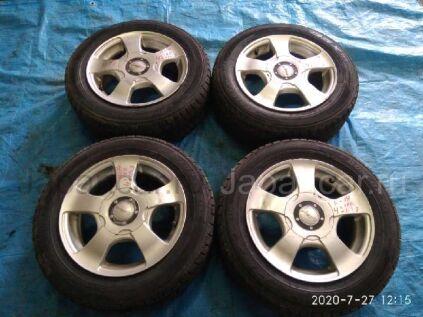 Зимние колеса Dunlop Dsx 175/65 14 дюймов Violento вылет 4 мм. б/у в Барнауле