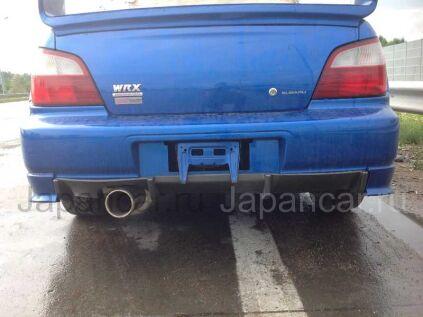 Задняя губа на Subaru Impreza WRX в Новосибирске