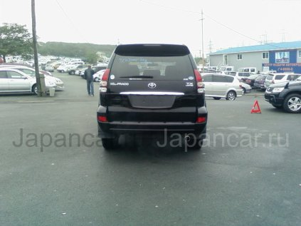 Спойлер на Toyota Land Cruiser Prado во Владивостоке