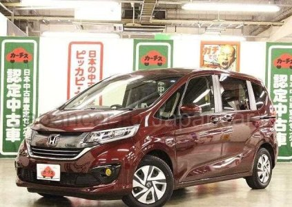 Honda Freed 2016 года в Японии, TOYAMA