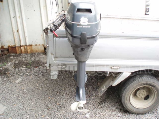 мотор подвесной YAMAHA F8CWH 2006 года