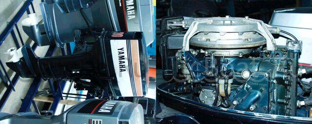 мотор подвесной YAMAHA 1989 года