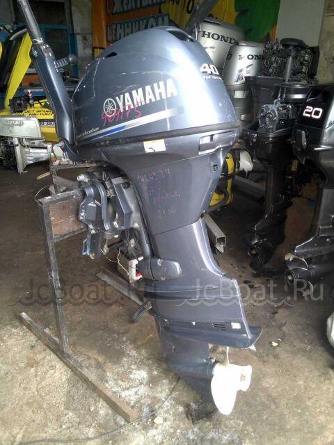 мотор подвесной YAMAHA 40 2012 года