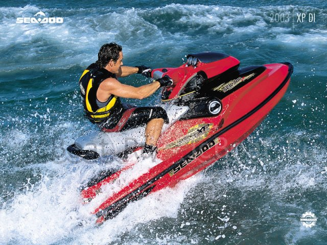 водный мотоцикл SEA-DOO XP DI 2003 года
