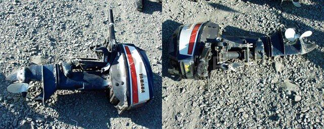 мотор подвесной YAMAHA 25 1993 года