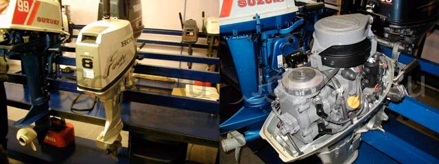 мотор подвесной HONDA 8 2001 года
