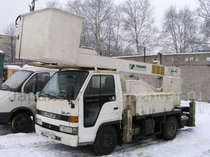 Автовышка Isuzu ELF 1990 года в Санкт-Петербурге