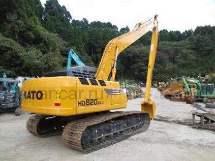 Экскаватор KATO HD820VLC 2013 года в Японии