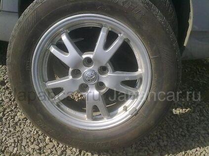 Летниe колеса Bridgestone 195/65 15 дюймов Toyota ширина 6.5 дюймов вылет 50 мм. б/у во Владивостоке